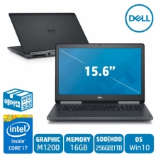 DELL M7520 i7-7820HQ /16GB/ 256GB+1TB/ M1200/Win10